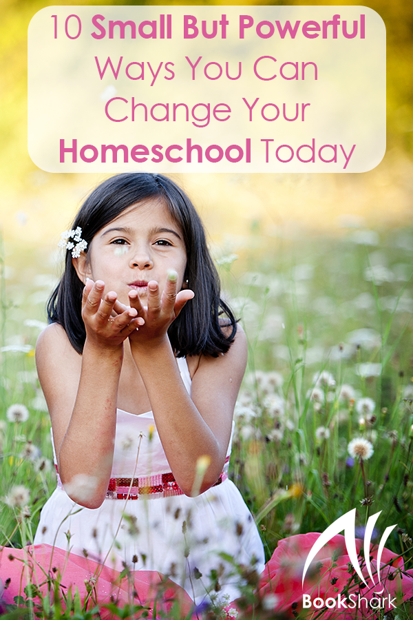 10 Small But Powerful Ways You Can Change Your Homeschool Today