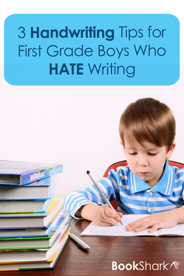 3 Handwriting Tips for First Grade Boys Who HATE Writing