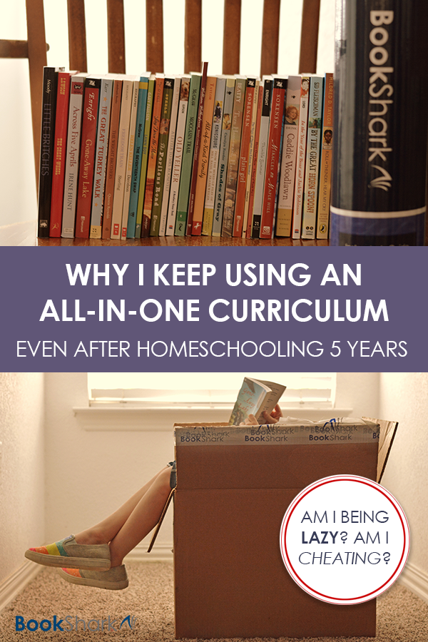 Why I Keep Using an All-in-one Curriculum After Homeschooling 5 Years