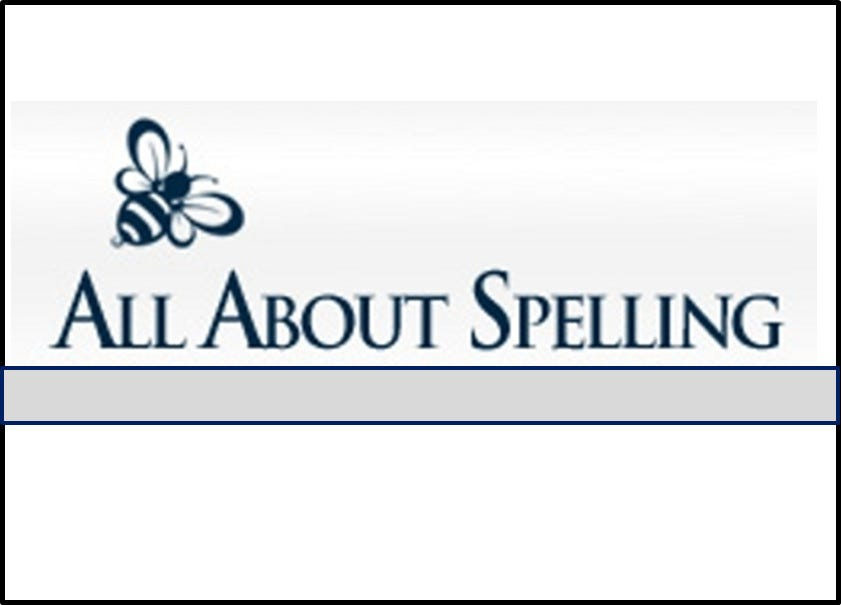 All About Spelling logo