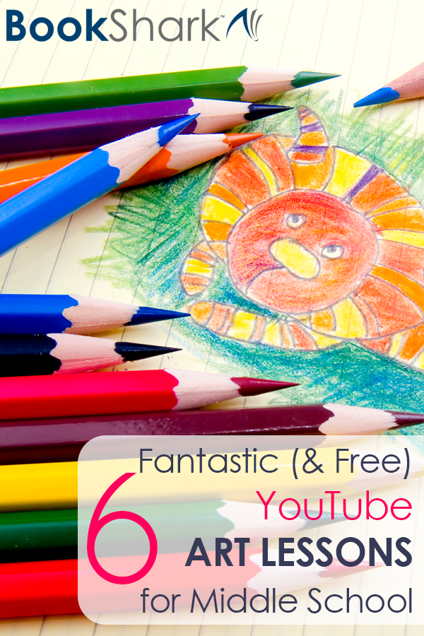 Six Fantastic (and Free) YouTube Art Lessons for Middle School
