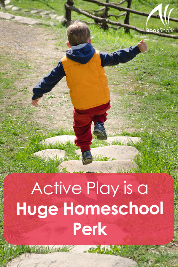 Active Play is a Huge Homeschool Perk
