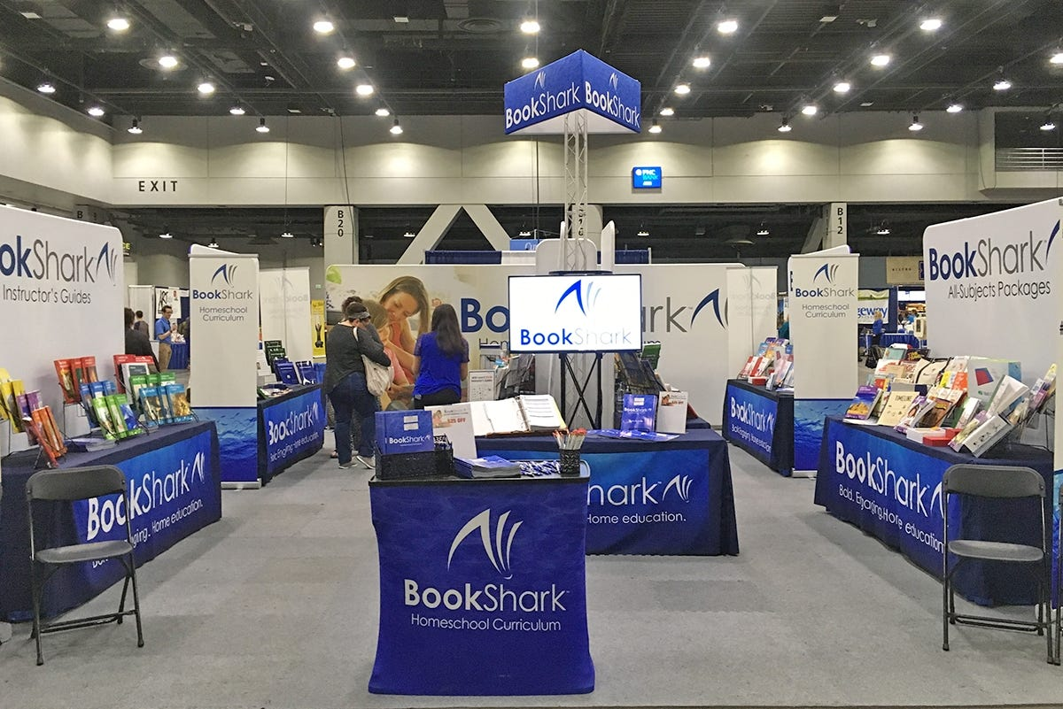 BookShark 2018 Homeschool Conventions