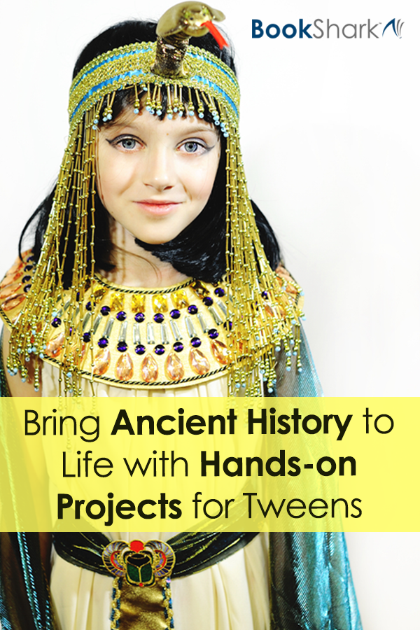 Bring Ancient History to Life with Hands-on Projects for Tweens