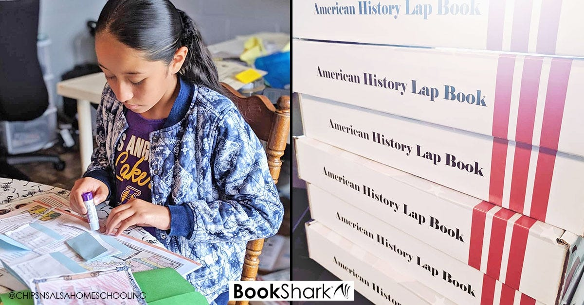 American History Cram Camp with Lap Books