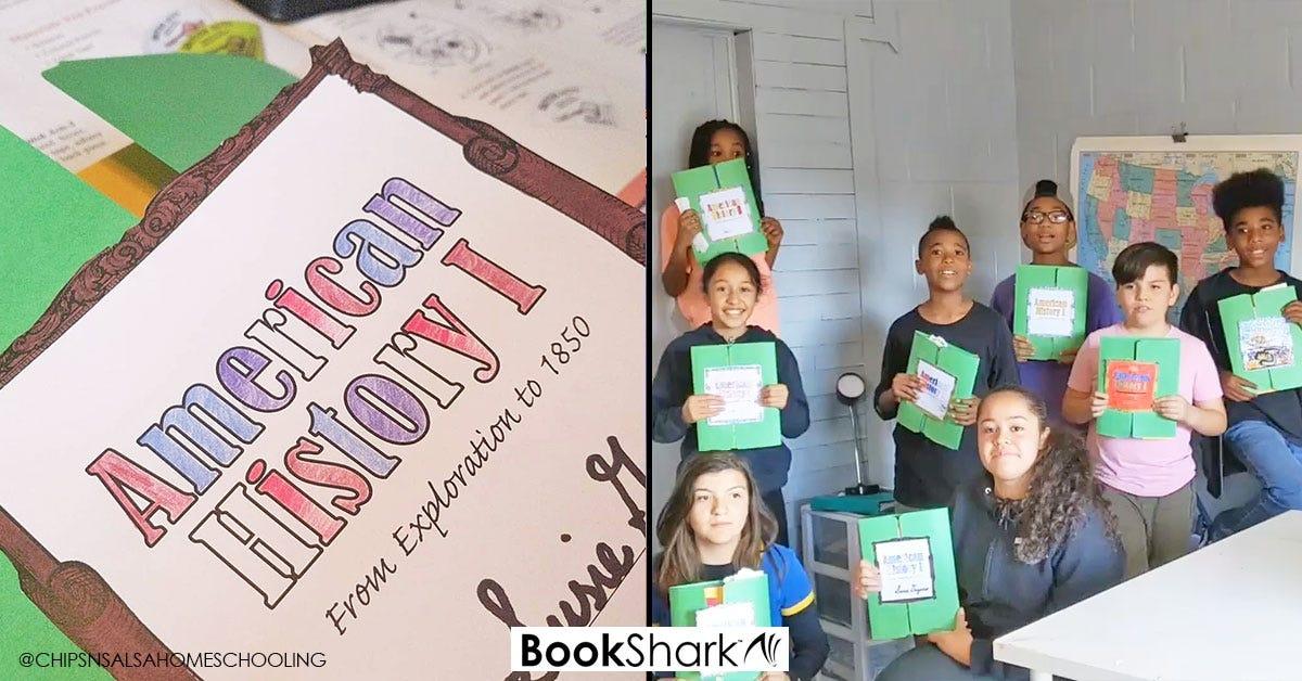 Using BookShark Lap Book Kits as a Homeschool Co-op Activity