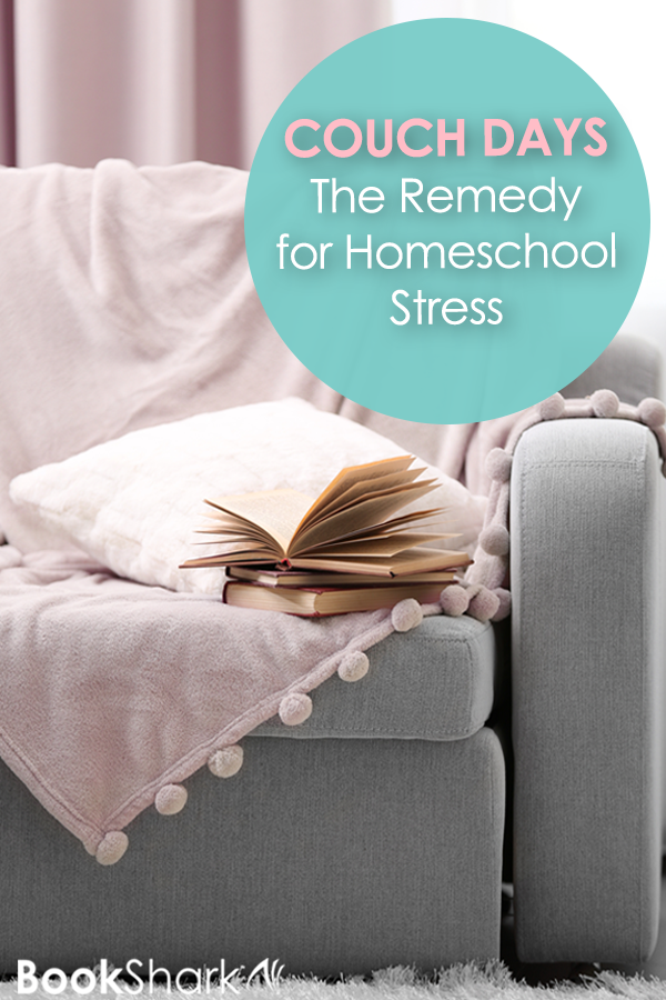 Couch Days: The Remedy for Homeschool Stress