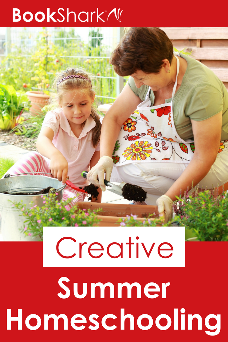 Creative Summer Homeschooling