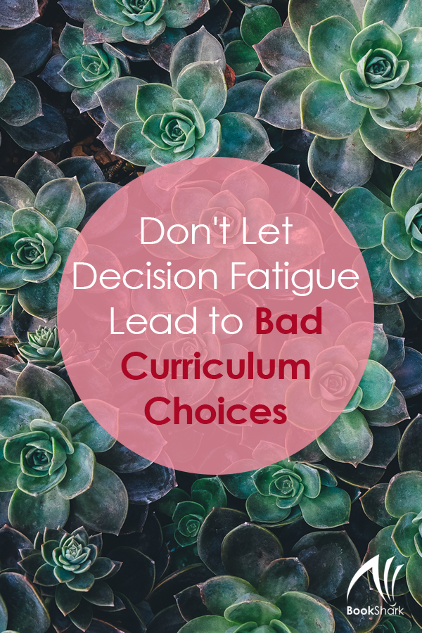 Don't Let Decision Fatigue Lead to Bad Curriculum Choices
