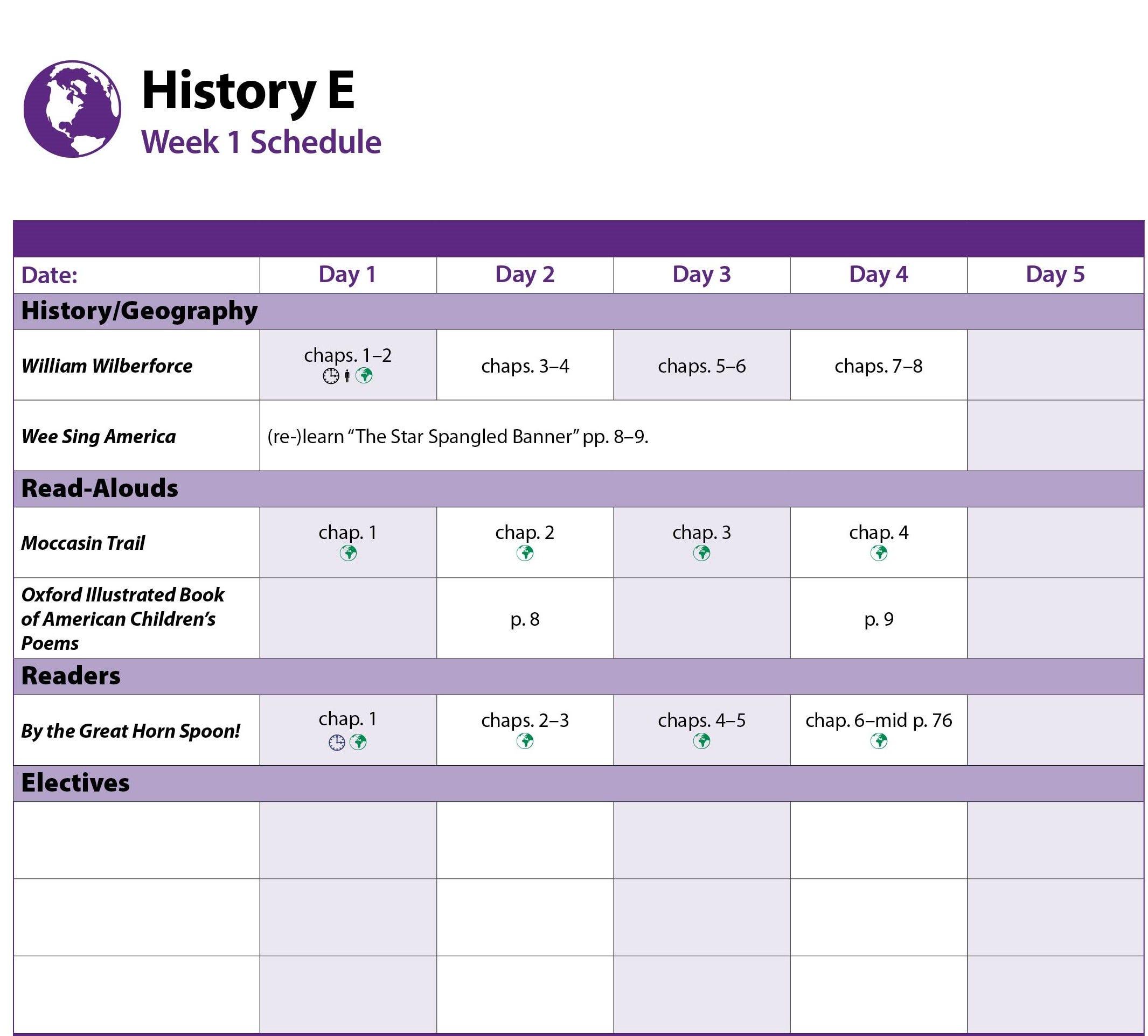 History Week 1