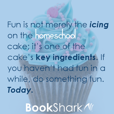 Fun is a necessary ingredient for homeschool.