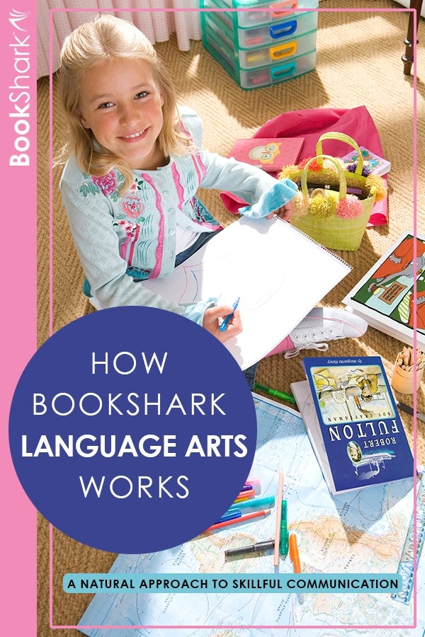 How BookShark Language Arts Works: A Natural Approach to Skillful Communication