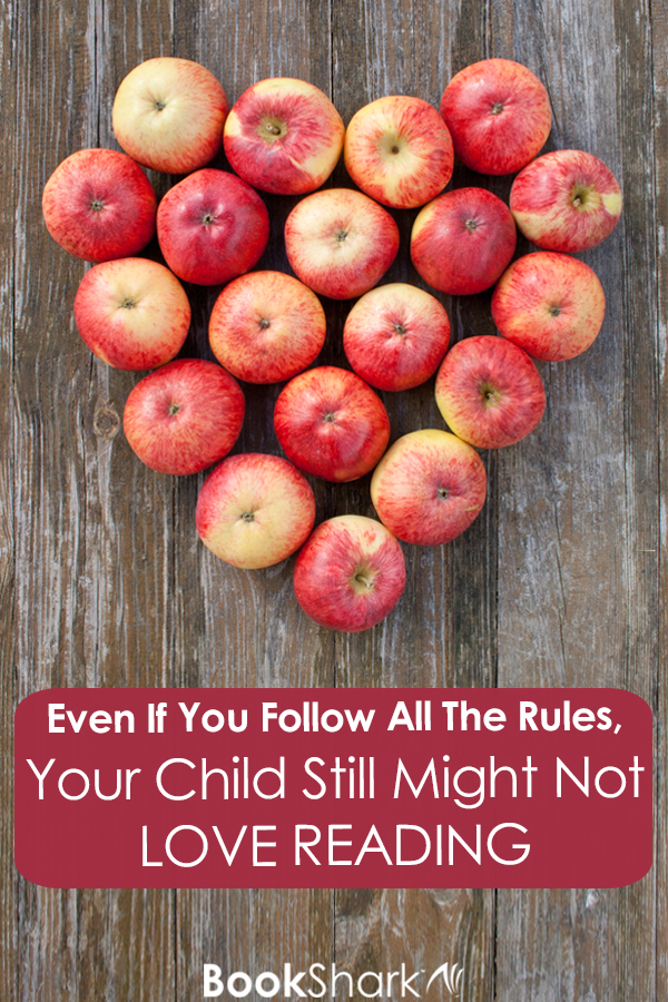 Even If You Follow All The Rules, Your Child Still Might Not Love Reading