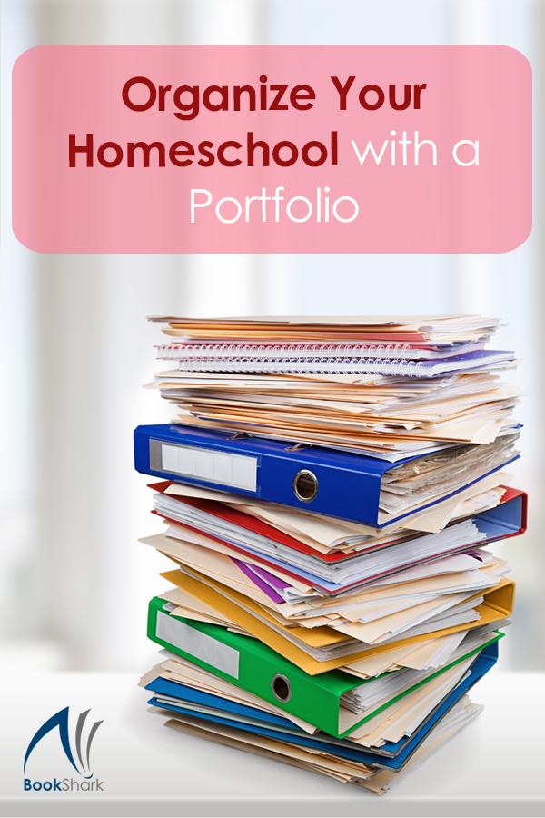 Organize Your Homeschool with a Portfolio