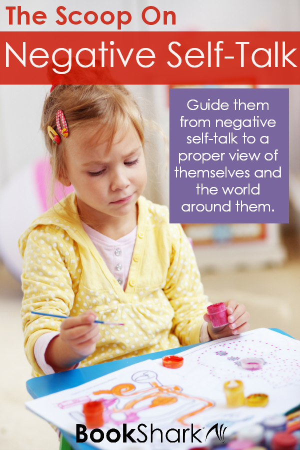 The Scoop on Negative Self-Talk in Your Homeschool