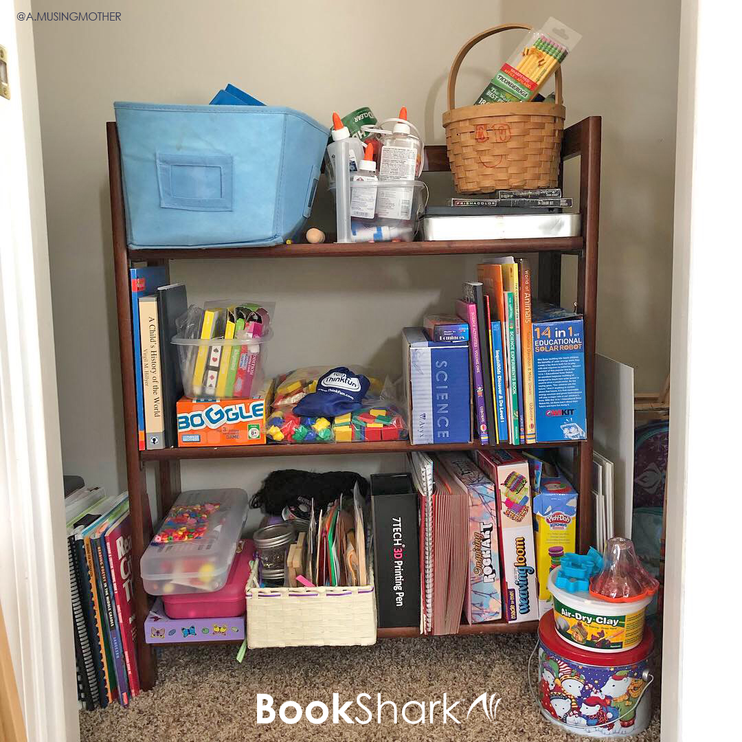 The Science Of Getting Kids Organized >> 3 Ways I Homeschool Without Sacrificing My Sanity Bookshark