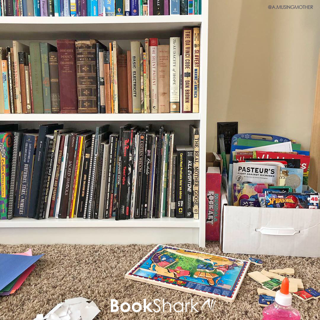 organize books by subject