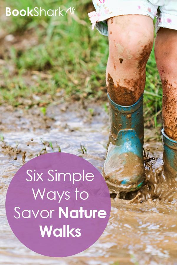 Six Simple Ways to Savor Nature Walks • homeschool nature study