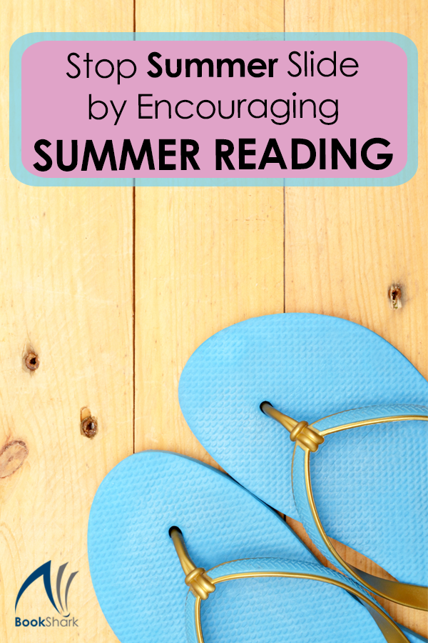 Stop Summer Slide by Encouraging Summer Reading