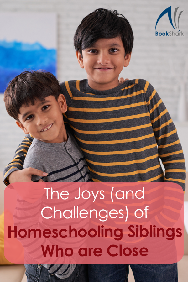 The Joys (and Challenges) of Homeschooling Siblings Who are Close in Age