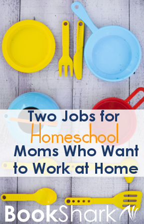 Two Jobs for Homeschool Moms Who Want to Work at Home