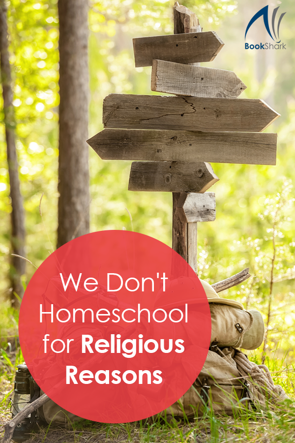 We Don't Homeschool for Religious Reasons • secular homeschooling