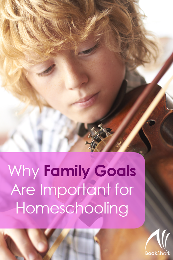 Why Family Goals Are Important for Homeschooling