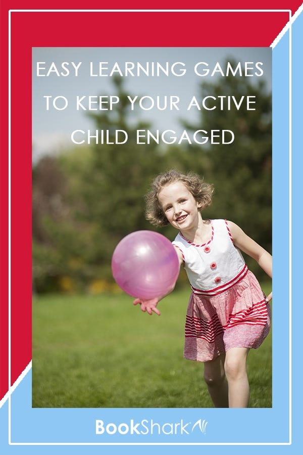 3 Easy Learning Games to Keep Your Active Child Engaged