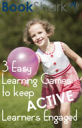 3 Easy Learning Games to Keep Your Active Learner Engaged