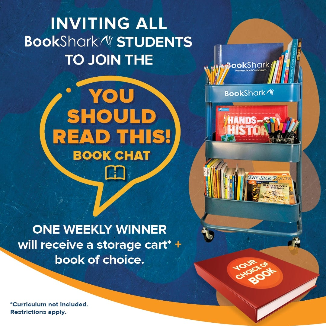 Join the You Should Read This Book Chat