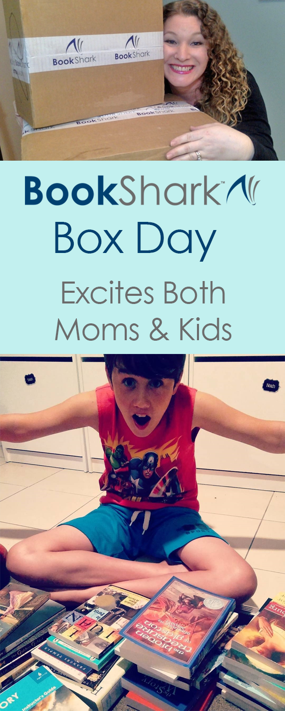BookShark Box Day Excites Both Moms and Kids • photo credits @mommaschmoozereviews and @sheryll_in_oz