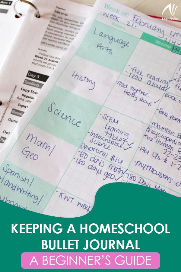 Keeping a Homeschool Bullet Journal: A Beginner's Guide