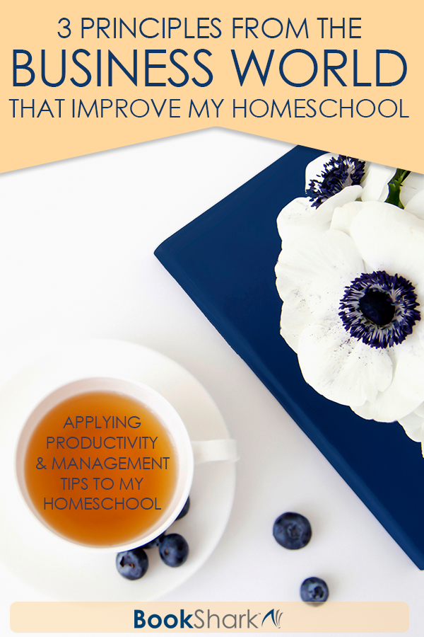 3 Principles from the Business World that Improve My Homeschool