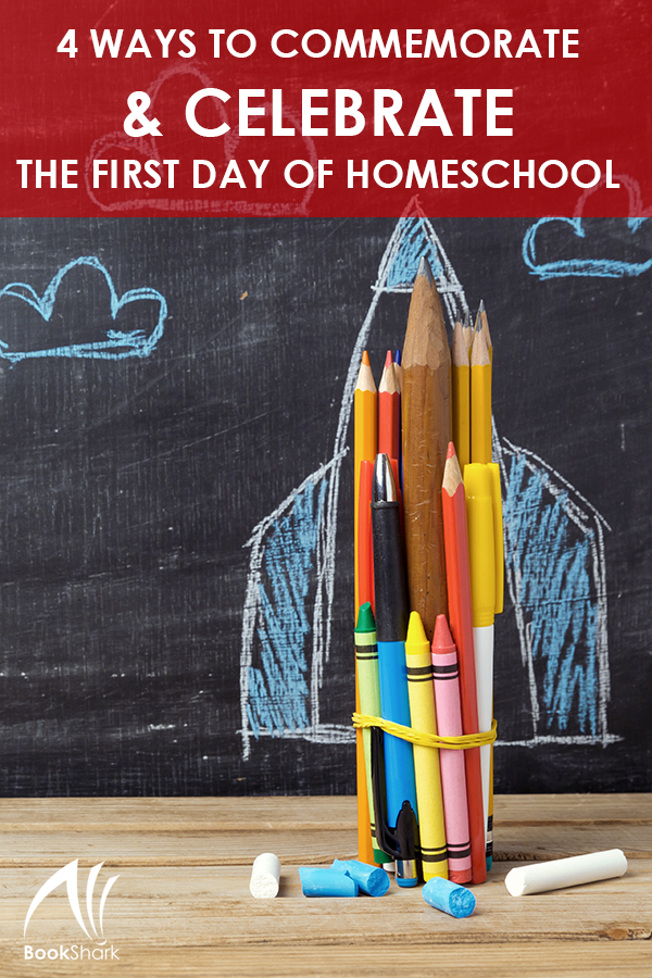 4 Ways to Commemorate and Celebrate the First Day of Homeschool