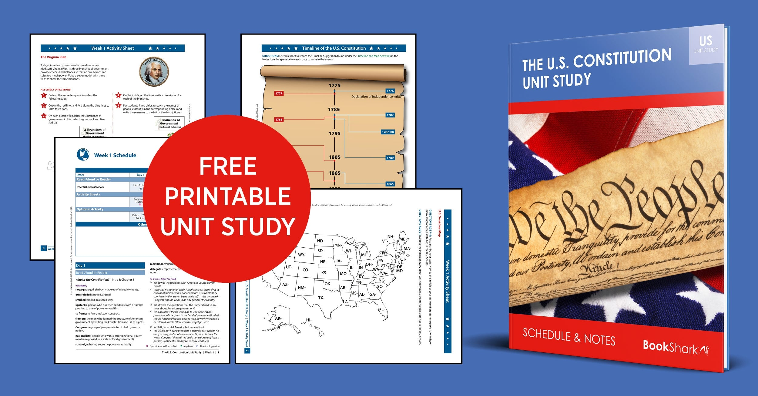 THE AMERICAN CONSTITUTION UNIT STUDY