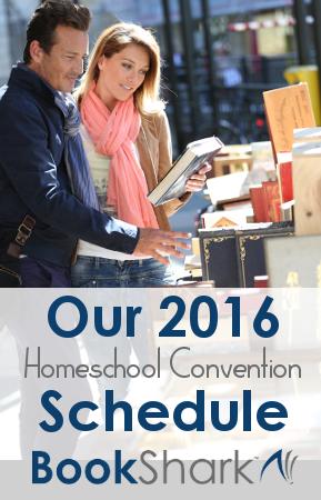 BookShark 2016 Convention Schedule