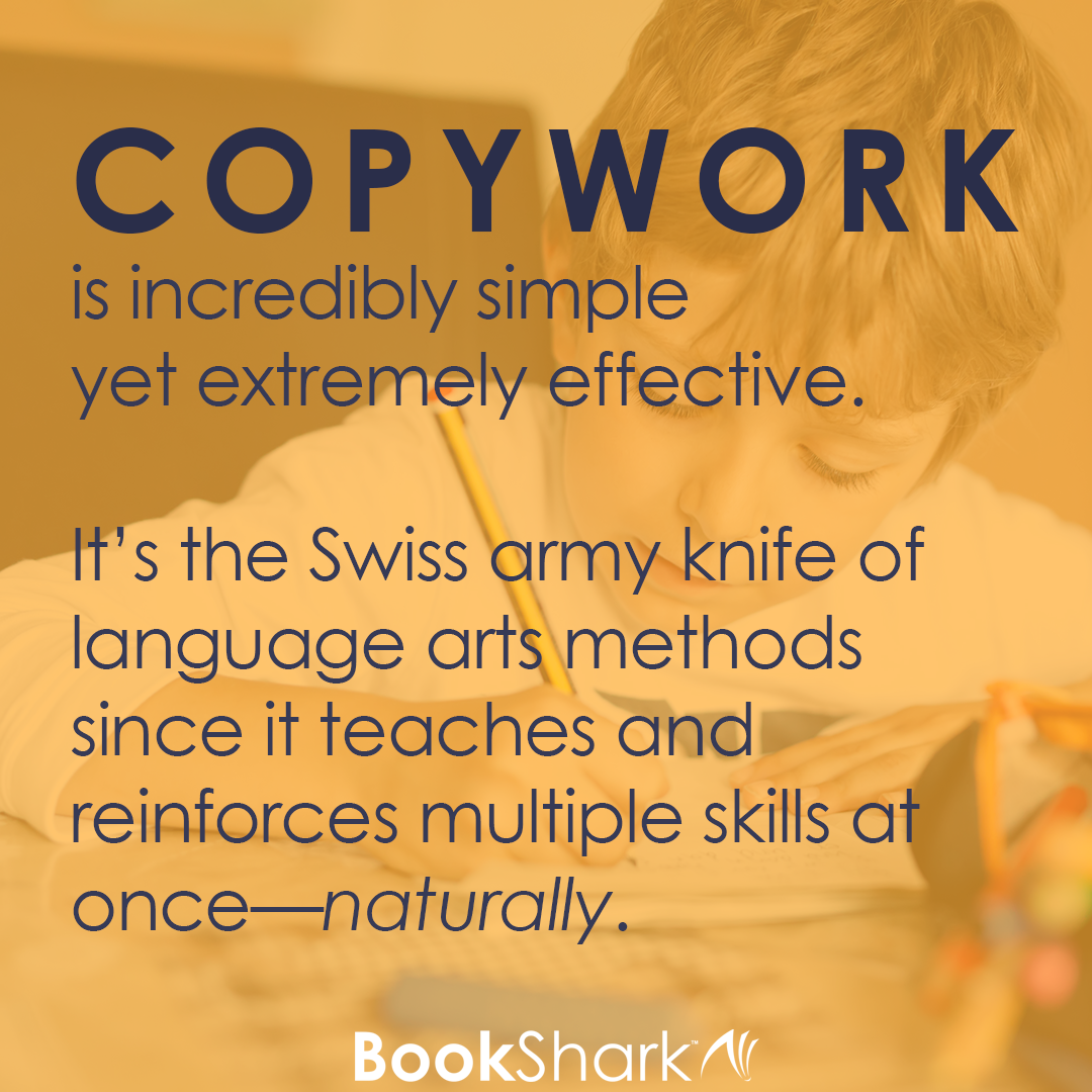 Copywork: the Swiss army knife of language teaching methods