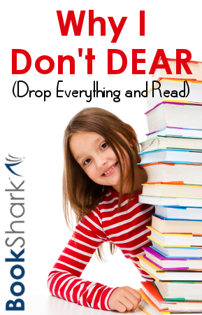 Why I Don't DEAR (Drop Everything and Read)
