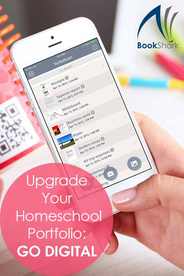 Upgrade Your Homeschool Portfolio by Going Digital