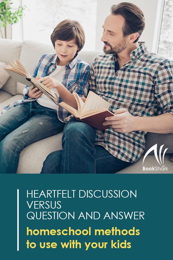 Heartfelt Discussion Versus Question & Answer