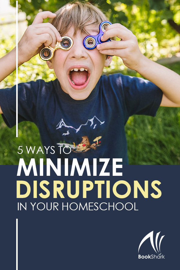 5 Ways to Minimize Interruptions in Your Homeschool Day