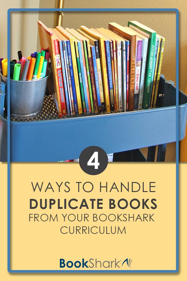 4 Ways to Handle Duplicate Books From Your BookShark Curriculum