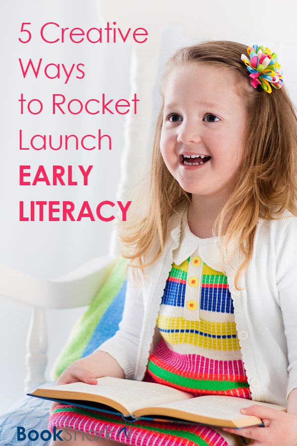 5 Creative Ways to Rocket Launch Early Literacy • homeschool reading