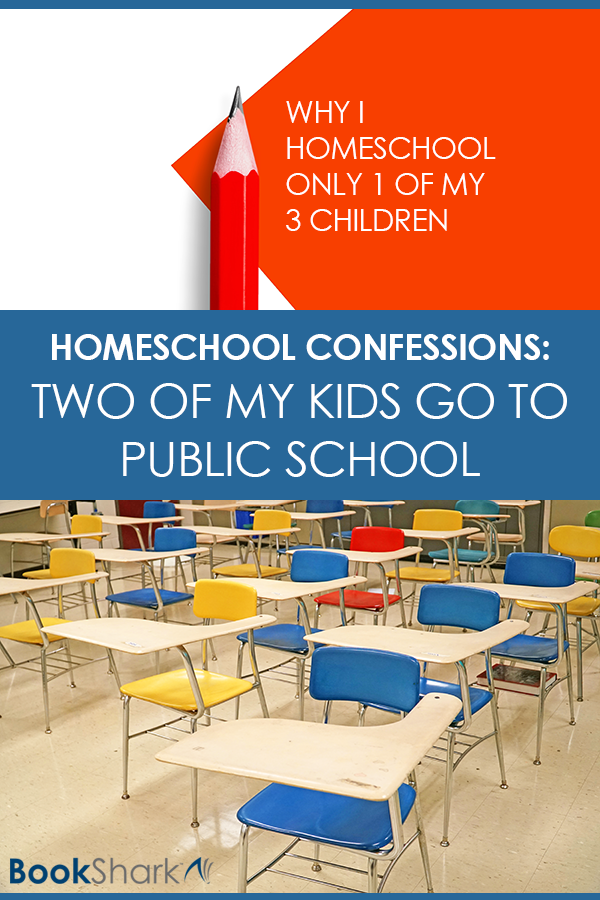 Homeschool Confessions: Two of My Kids Go to  Public School