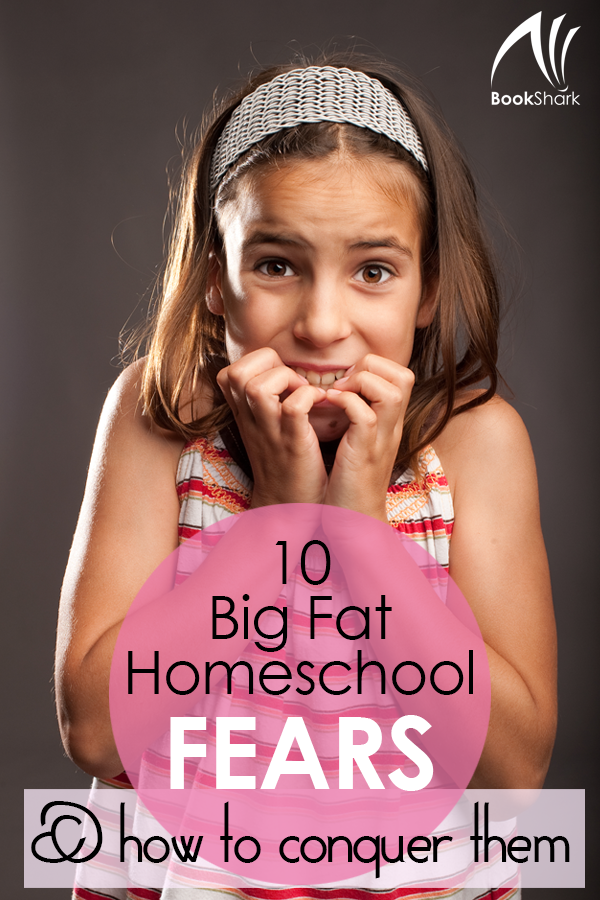 10 Big Fat Homeschool Fears (& How to Conquer Them)