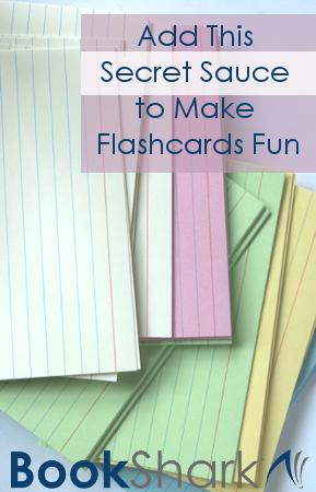 Add This Secret Sauce to Make Flashcards Fun