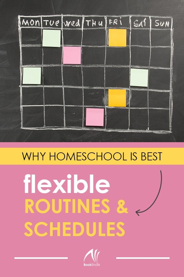 Why Homeschool Is Best: Flexible Routines and Schedules