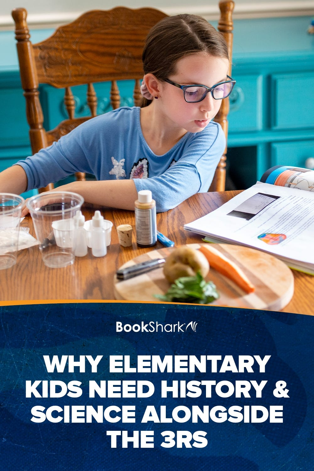 Why Elementary Kids Need History & Science Alongside the 3Rs