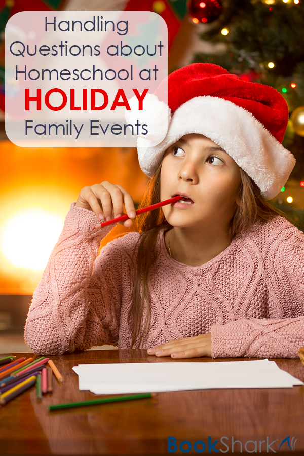 Handling Questions about Homeschool at Holiday Family Events