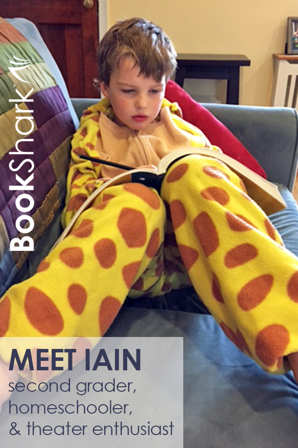 Customer Spotlight: Iain, Second Grader and Theater Enthusiast